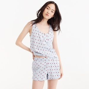 J.crew star pj set, NWT